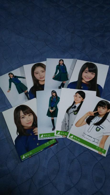欅坂46 生写真 8枚 グッズの画像