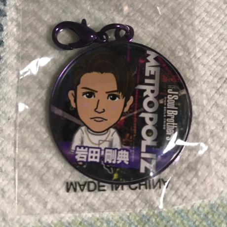 岩田剛典 METRO POLIZ クレカチャーム ライブグッズの画像