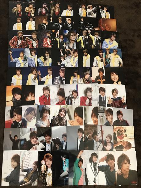 184枚+2セット 中間淳太 公式写真 コンサートグッズの画像