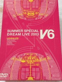 V6 2003年 SUMMER SPECIAL DREAM DVD