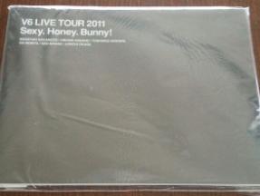 V6 パンフレット Sexy.Honey.Bunny(美品)