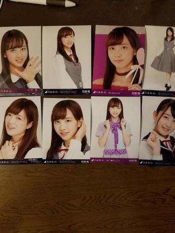 乃木坂46 三期生写真 ライブ・握手会グッズの画像