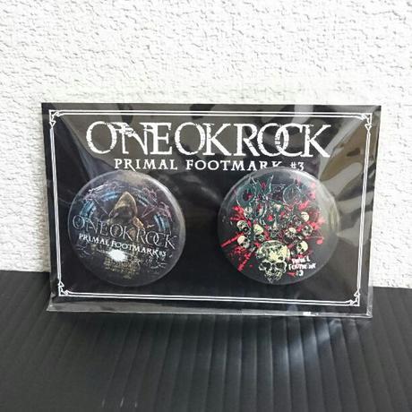 【非売品】希少!ONE OK ROCK  PRIMA FOOTMARK バッジ ライブグッズの画像