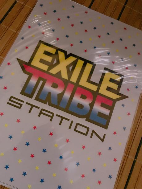 EXILETRIBE station ファイル2枚セット ライブグッズの画像