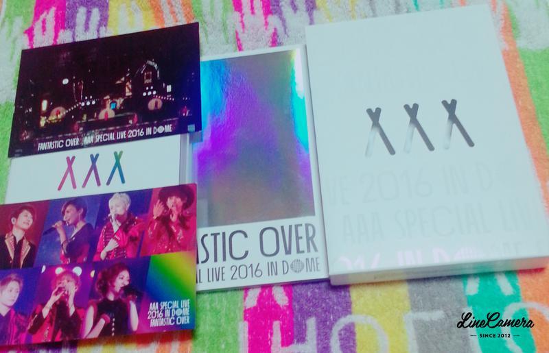 初回版限定品FUNTASTIC OVER DVD2枚組 ライブグッズの画像