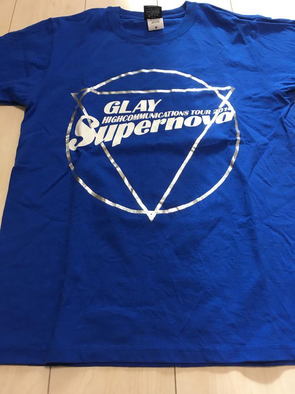 GLAY/Supernova/Tシャツ ライブグッズの画像