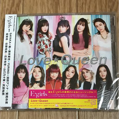 E-girlsE-girls  Love★Queen  CD ライブグッズの画像