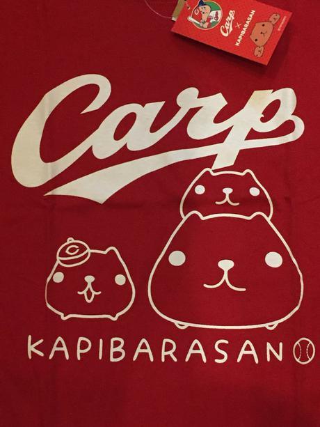 カープ カビパラさんTシャツ Sサイズ グッズの画像