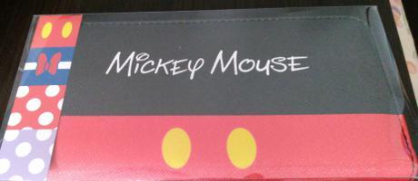ミッキーマウス ロングウォレット 財布 ディズニー プライズ ディズニーグッズの画像