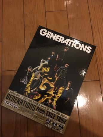 GENERATIONS from EXILE TRIBE 1stアルバム ライブグッズの画像