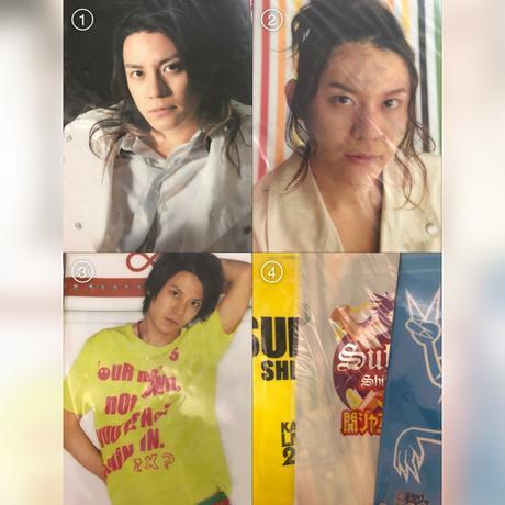 ◼️渋谷すばる クリアファイル 3点セット リサイタルグッズの画像