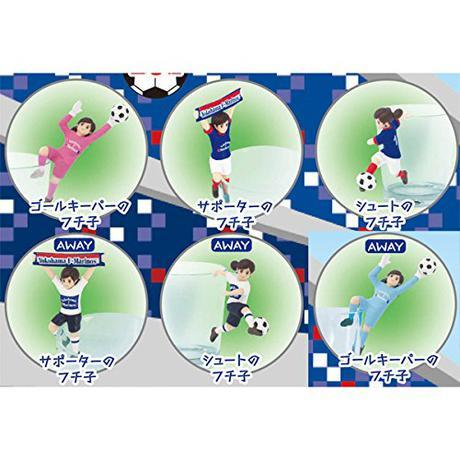 コップのフチ子 横浜F・マリノス 全6種類 コンプリート グッズの画像