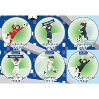 コップのフチ子 ガンバ大阪 全6種類 6個 コンプリート グッズの画像 1枚目