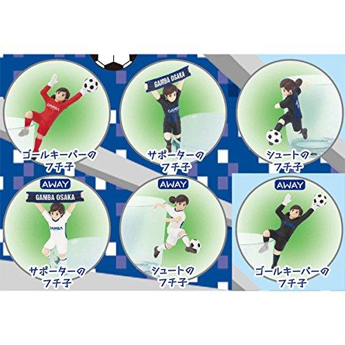 コップのフチ子 ガンバ大阪 全6種類 6個 コンプリート グッズの画像