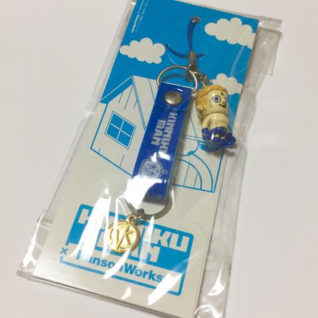 テリーマン☆キン肉マン☆Panson Worksコラボ☆ストラップ☆新品未使用 グッズの画像