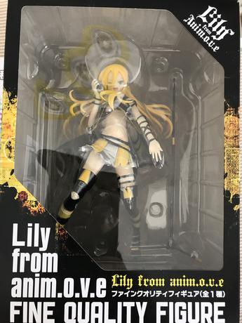 初音ミクとLilyのフィギュア グッズの画像