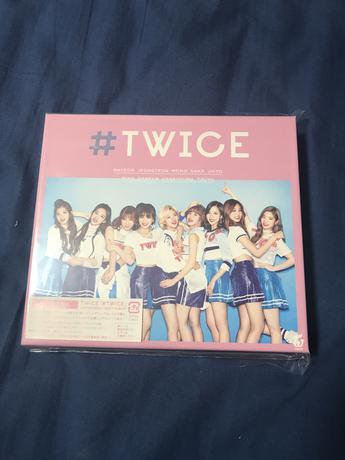 twice   #TWICE 初回A グッズの画像