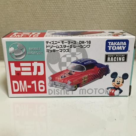 トミカ ディズニーモータース DM-16 ドリームスターII レーシング ミッキ グッズの画像