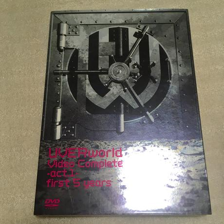 【UVERworld 】【初回生産限定】PV集 ライブグッズの画像