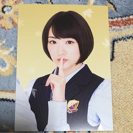 NOGIBINGO!6 Blu-ray特典ポストカード 生駒里奈 ライブ・握手会グッズの画像