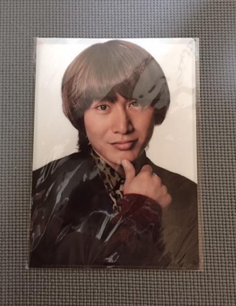 LIVE 8TEST クリアファイル安田君 リサイタルグッズの画像