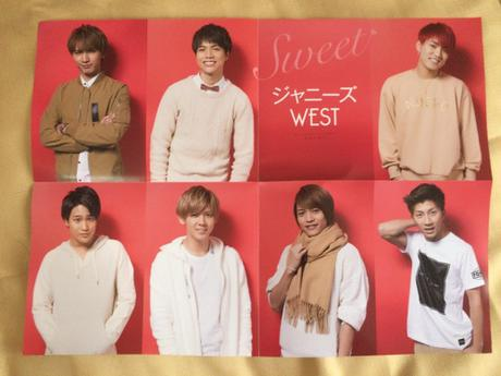 ジャニーズWESTポスター コンサートグッズの画像