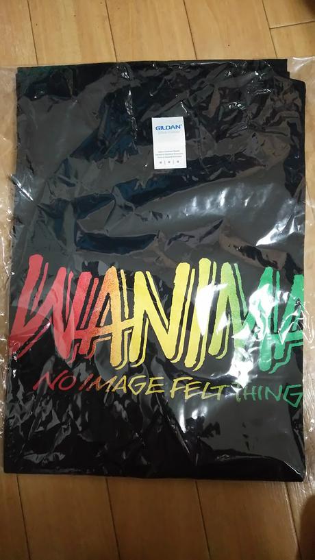 WANIMA Tシャツ ライブグッズの画像