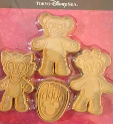 シェリーメイ スウィートダッフィー 2017 クッキー型 ディズニーグッズの画像