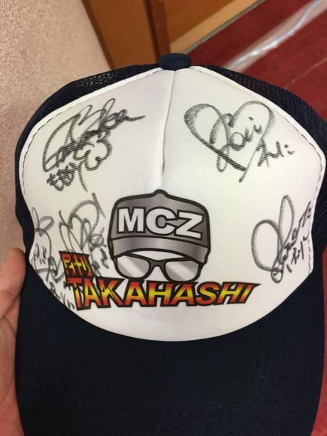 ももクロ 直筆サイン 帽子 月刊TAKAHASHI 当選品 激レア 証明有 本物 ライブグッズの画像
