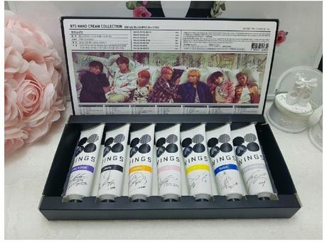 新デザインハンドクリーム 公認韓国商品 ライブグッズの画像