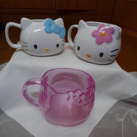 ハローキティーマグカップセット グッズの画像