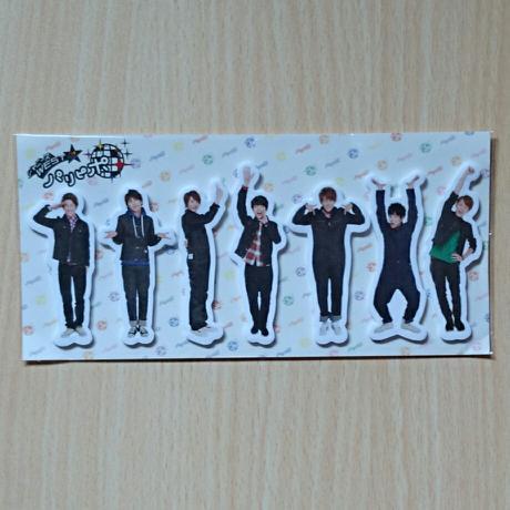 【未開封】ジャニーズWEST パリピポ 付箋 コンサートグッズの画像