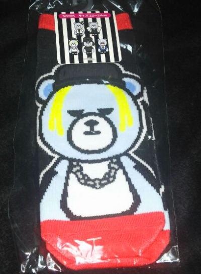 KRUNK × BIGBANG 靴下 SOL