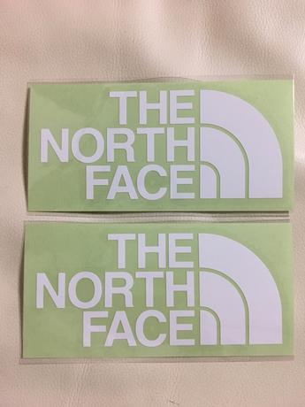 【新品 正規品】ノースフェイス THE NORTH FACE ステッカー 純正品 グッズの画像