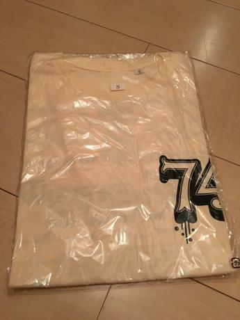 ポルノグラフィティ★74ersツアーTシャツ復刻版!新品・未開封 ライブグッズの画像