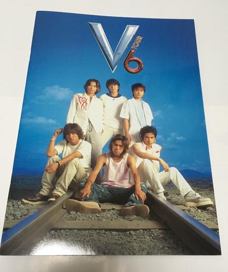 【V6】'99 V6TOUR パンフレット コンサートグッズの画像