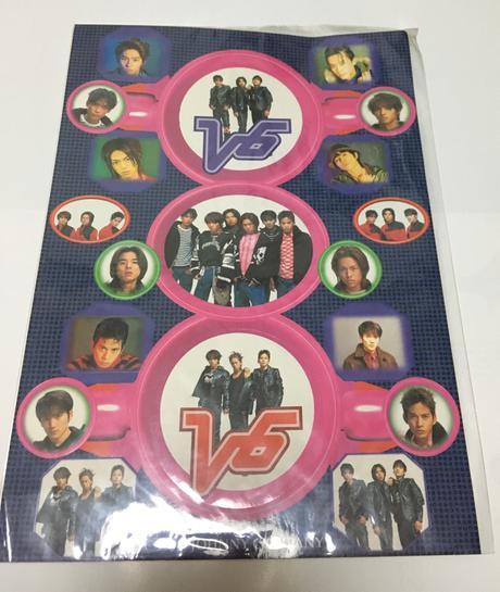 【V6】1998年公式グッズ ステッカー コンサートグッズの画像