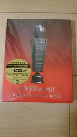 UVERworld Video Complete -act.2- BD+CD ライブグッズの画像