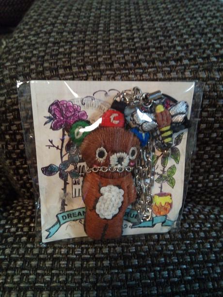 ドリカム×刺繍作家tamaoコラボ ドリクマちゃん刺繍チャーム ライブグッズの画像