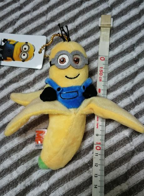 ミニオン 非売品バナナマスコット ボールチェーン   キャンディキーホルダー付き グッズの画像