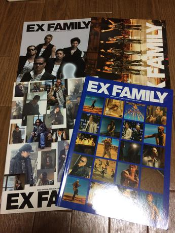EXILE FC会報 15.16.17.19 ライブグッズの画像