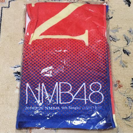 NMB48 9th Single 「高嶺の林檎」マフラータオル ライブグッズの画像