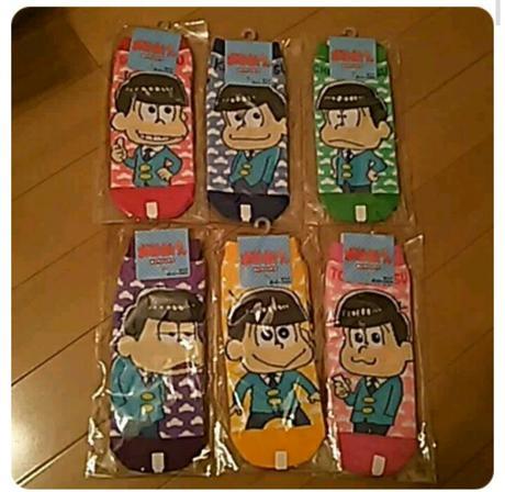 おそ松さん 靴下6足セット【新品】 グッズの画像