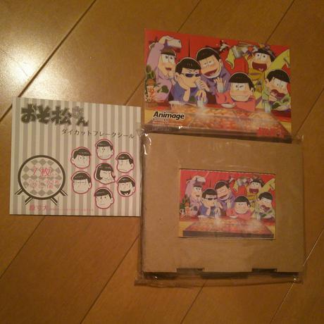 おそ松さん トランプ+ポストカード+オマケ【非売品】 グッズの画像