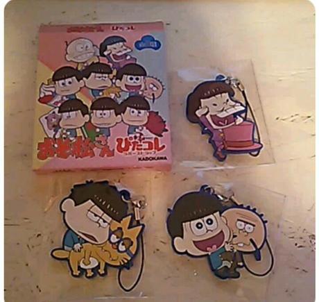 おそ松さん ぴたコレ 3種セット グッズの画像
