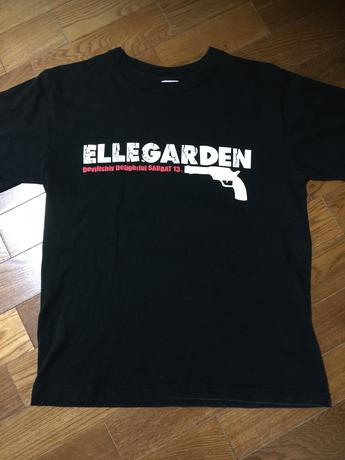 ELLEGARDEN Tシャツ(ステッカー付き) ライブグッズの画像