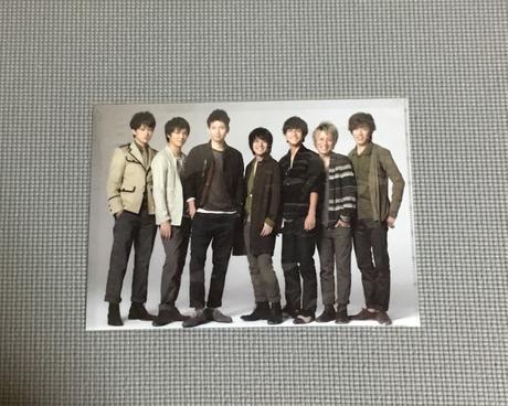 関ジャニ∞ E×E クリアファイル リサイタルグッズの画像