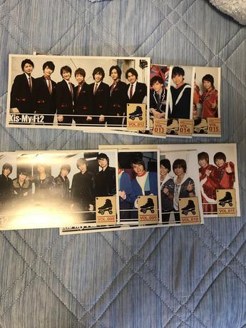 値下げ^_^   キスマイ会報 No.8〜15 コンサートグッズの画像