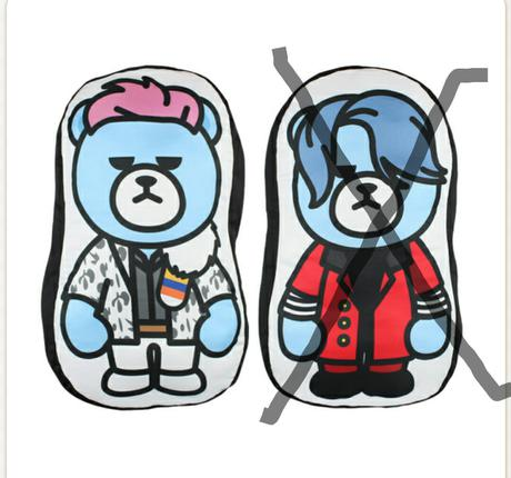 BIGBANG非売品ダイカットクッションT.O.Pタプ ライブグッズの画像
