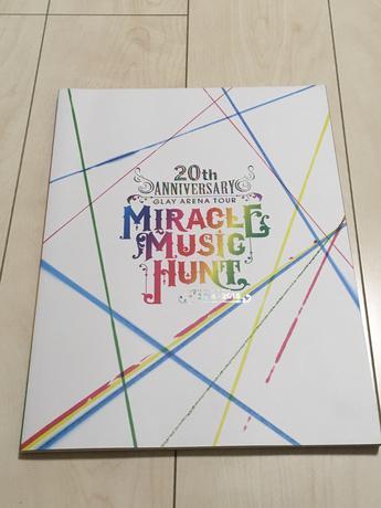 MIRACLE MUSIC HUNT 2014-2015/パンフレット ライブグッズの画像